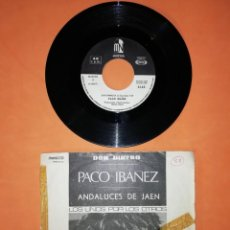 Discos de vinilo: PACO IBAÑEZ. DON DINERO. ANDALUCES DE JAEN. SONO PLAY 1968. Lote 192266162