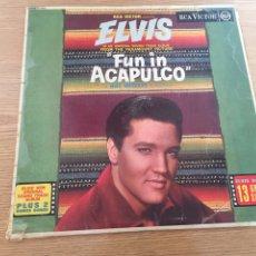 Discos de vinilo: ELVIS FUN IN ACAPULCO. Lote 192266221