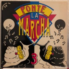 Discos de vinilo: PONTE LA MARCHA 3, DOBLE LP HITS. Lote 192266376