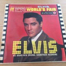 Discos de vinilo: ELVIS WORLD'S FAIR. Lote 192266428
