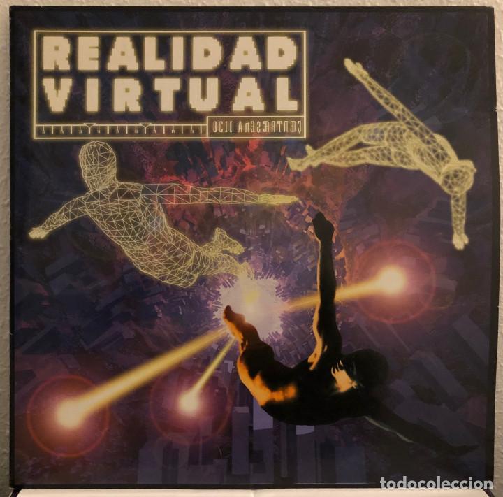 REALIDAD VIRTUAL, DOBLE LP TECHNO TRANCE Y HOUSE (Música - Discos - LP Vinilo - Techno, Trance y House)