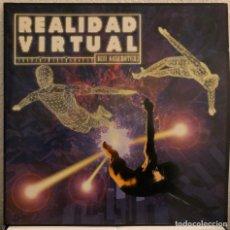 Discos de vinilo: REALIDAD VIRTUAL, DOBLE LP TECHNO TRANCE Y HOUSE. Lote 192267056