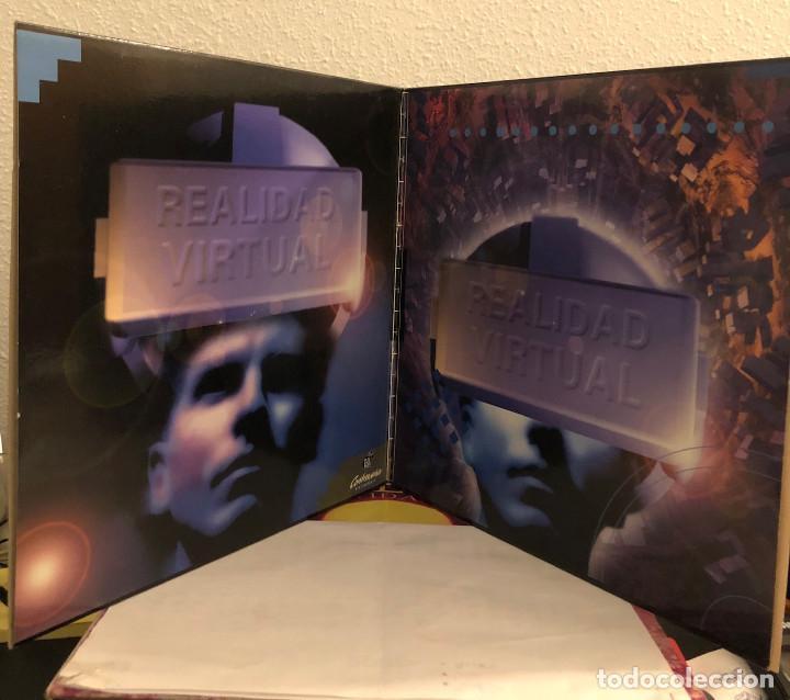 Discos de vinilo: REALIDAD VIRTUAL, Doble LP techno trance y house - Foto 3 - 192267056