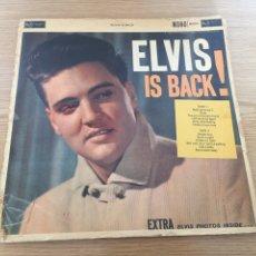 Discos de vinilo: ELVIS IS BACK. Lote 192267441