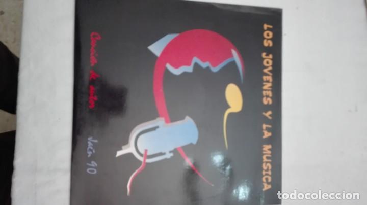 LOS JOVENES Y LA MUSICA-JAEN 90 CANCION DE AUTOR (Música - Discos de Vinilo - EPs - Otros Festivales de la Canción)