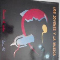 Discos de vinilo: LOS JOVENES Y LA MUSICA-JAEN 90 CANCION DE AUTOR. Lote 192268706