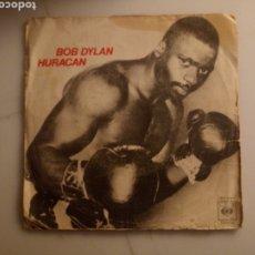 Discos de vinilo: BOB DYLAN. HURACÁN.. Lote 192274122