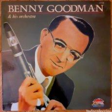 Discos de vinilo: LP. BENNY GOODMAN & HIS ORCHESTRA. 1985. SARABANDAS. Lote 192274897
