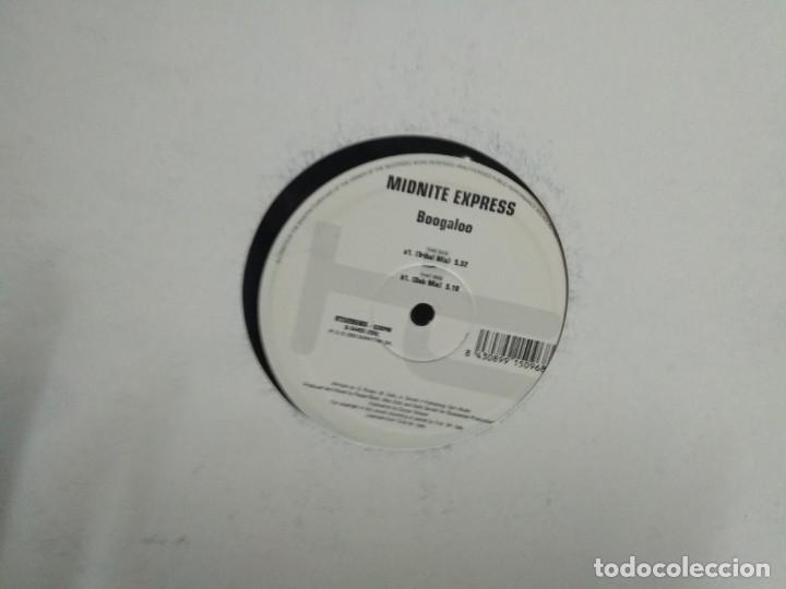 MIDNITE EXPRESS - BOOGALOO (Música - Discos de Vinilo - Maxi Singles - Techno, Trance y House)