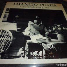 Discos de vinilo: 7 LP, CANTAUTORES, BAEZ, AUTE,AMANCIO PRADA, VER IMAGENES. Lote 192284936