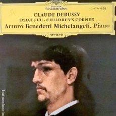 Discos de vinilo: CLAUDE DEBUSSY. IMAGES I/II, CHILDREN'S CORNER. PIANO. Lote 112722487