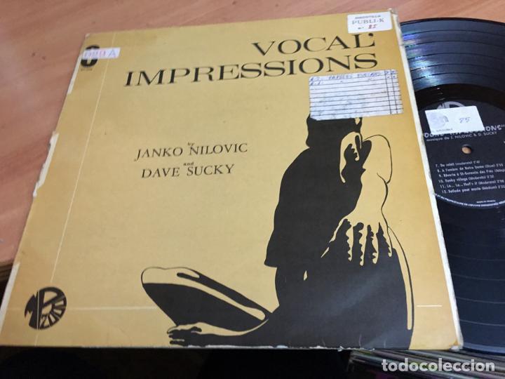 JANKO NILOVIC (VOCAL' IMPRESSIONS) LP FRANCE (B-10) (Música - Discos - LP Vinilo - Jazz, Jazz-Rock, Blues y R&B)