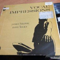 Discos de vinilo: JANKO NILOVIC (VOCAL' IMPRESSIONS) LP FRANCE (B-10). Lote 192291560