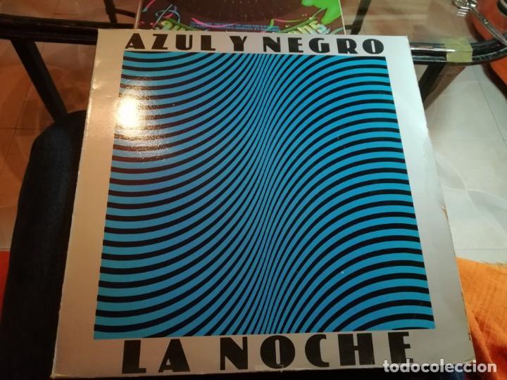 AZUL Y NEGRO. (Música - Discos - LP Vinilo - Grupos Españoles de los 70 y 80)