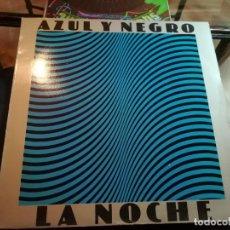Discos de vinilo: AZUL Y NEGRO.. Lote 192291725