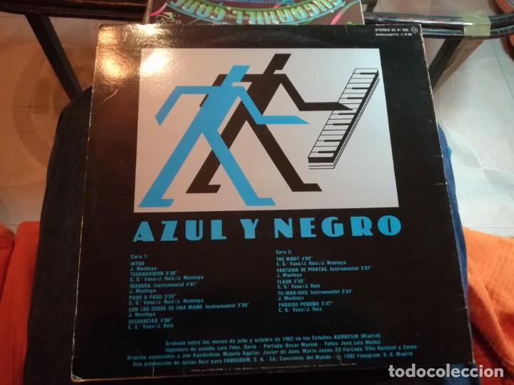 Discos de vinilo: AZUL Y NEGRO. - Foto 2 - 192291725