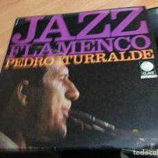 Discos de vinilo: PEDRO ITURRALDE (JAZZ FLAMENCO) LP ESPAÑA 1975 (B-10). Lote 192292117