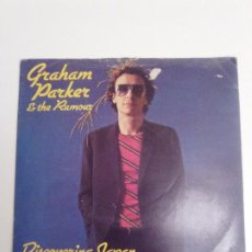 Discos de vinil: GRAHAM PARKER & THE RUMOUR DISCOVERING JAPAN / LOCAL GIRLS ( 1979 VERTIGO UK ). Lote 192292141