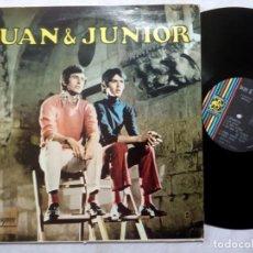 Discos de vinilo: JUAN & JUNIOR - LP PUERTO RICO 1969 - BORINQUEN. Lote 192312592