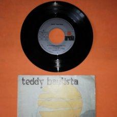 Discos de vinilo: TEDDY BAUTISTA. EN LOS BOSQUES DE MI MENTE. ARIOLA RECORD 1971 . LIBRETO CON LETRA Y POSTER.. Lote 192315636