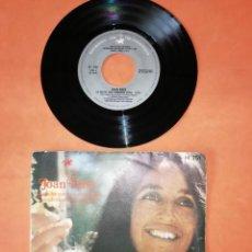 Discos de vinilo: JOAN BAEZ. LA NOCHE QUE TOMARON DIXIE. HISPAVOX 1971. Lote 192316903