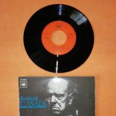 Discos de vinilo: FESTIVAL CASALS. CANT DELS OCELLS. CBS 1970. Lote 192317335