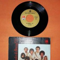 Discos de vinilo: SERGIO MENDES & BRASIL 77. PAIS TROPICAL. TANTA GENTE. 1971. AM RECORDS.. Lote 192318467