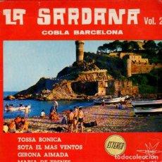 Dischi in vinile: COBLA BARCELONA - LA SARDANA VOL 2 - TOSSA BONICA + 3 TEMAS - EP MARFER 1966. Lote 192330988