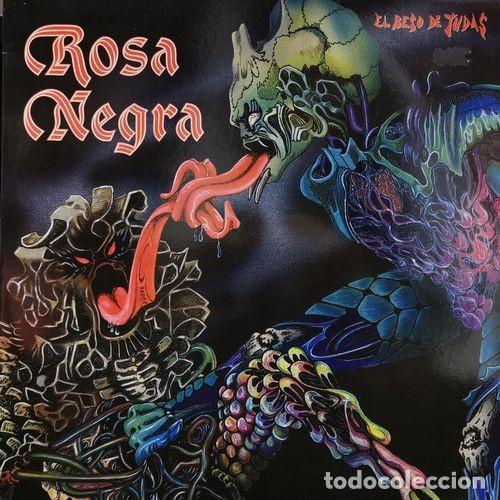 ROSA NEGRA - EL BESO DE JUDAS - HEAVY METAL ESPAÑOL - LP 1ª EDICION - EPC 26894 - 1986 (Música - Discos - LP Vinilo - Heavy - Metal)