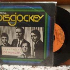 Disques de vinyle: KRAFTWERK LOS MANIQUIES SINGLE SPAIN 1977 PDELUXE. Lote 192333191