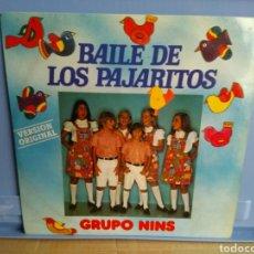 Discos de vinilo: LP GRUPO NINS/BAILE DE LOS PAJARITOS. Lote 192339027