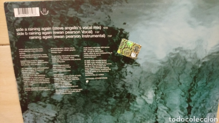 Discos de vinilo: Moby?–Raining Again . Maxi single vinilo - 2005 - - Foto 2 - 192340076