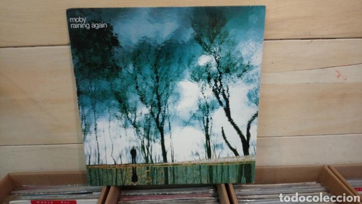 MOBY?–RAINING AGAIN . MAXI SINGLE VINILO - 2005 - (Música - Discos de Vinilo - Maxi Singles - Electrónica, Avantgarde y Experimental)
