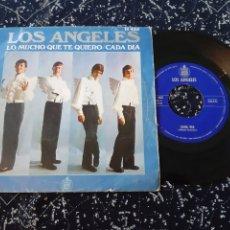 Discos de vinilo: LOS ANGELES. LO MUCHOBQUE TE QUIERO. CADA DIA. 1969. CH 435. HISPAVOX. Lote 192346331