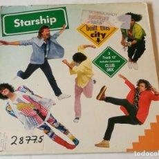 Discos de vinil: STARSHIP - WE BUILT THIS CITY - 1985. Lote 192373040