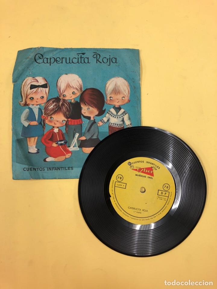 DISCO VINILO CAPERUCITA ROJA - CUENTOS INFANTILES TYBER - MUÑECAS ONIL - PERFECTO ESTADO (Música - Discos - Singles Vinilo - Música Infantil)