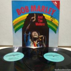 Discos de vinilo: BOB MARLEY AND THE WAILERS - REGGAE REVOLUTION 197X ED ALEMANA GATEFOLD. Lote 192399465