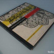 Discos de vinilo: DISCO ALBUM: LA ROSA DEL AZAFRAN ZARZUELA EN DOS ACTOS – GUERRERO – SORIA RECORDS 1930 PRESENTADO EN. Lote 192408193
