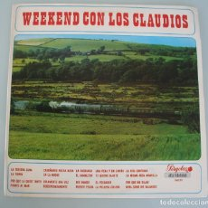 Discos de vinilo: DISCO VINILO LP: WEEKEND CON LOS CLAUDIOS – PERGOLA 1968 - VER TITULOS - EDICION ESPECIAL. Lote 192408481