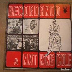 Discos de vinilo: RECORDANDO A NAT KING COLE - VOL 2 (VINYL, LP, COMPILATION, REISSUE - CAPITOL RECORDS - LP - . Lote 192442215