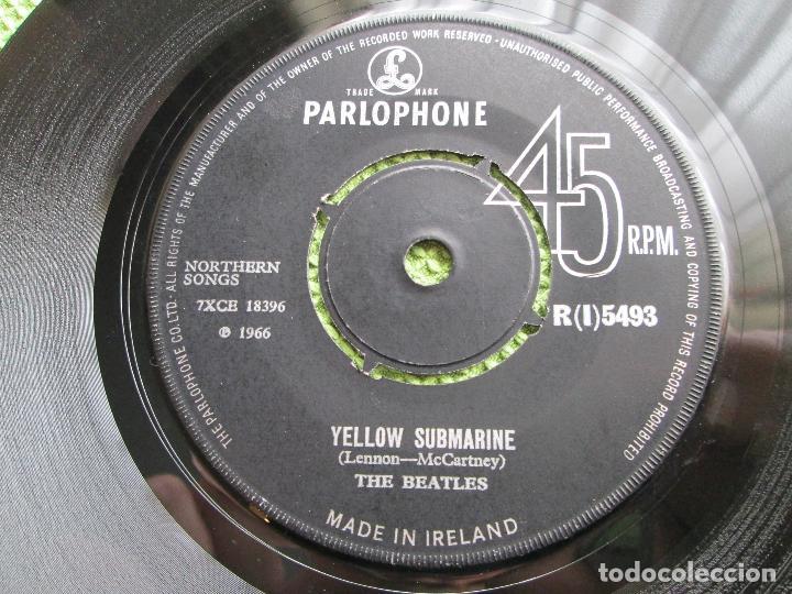 Discos de vinilo: Vinyl, SingleThe Beatles – Yellow Submarine / Eleanor Rigby 7 Pul, 45 RPM, ORIGINAL, 1966, Ireland. - Foto 2 - 192444247