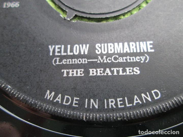 Discos de vinilo: Vinyl, SingleThe Beatles – Yellow Submarine / Eleanor Rigby 7 Pul, 45 RPM, ORIGINAL, 1966, Ireland. - Foto 4 - 192444247