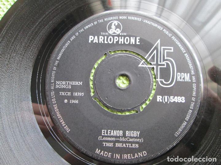 Discos de vinilo: Vinyl, SingleThe Beatles – Yellow Submarine / Eleanor Rigby 7 Pul, 45 RPM, ORIGINAL, 1966, Ireland. - Foto 6 - 192444247