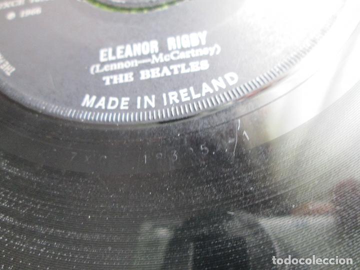 Discos de vinilo: Vinyl, SingleThe Beatles – Yellow Submarine / Eleanor Rigby 7 Pul, 45 RPM, ORIGINAL, 1966, Ireland. - Foto 7 - 192444247
