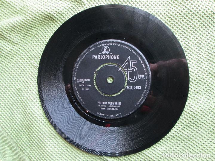 VINYL, SINGLETHE BEATLES – YELLOW SUBMARINE / ELEANOR RIGBY 7 PUL, 45 RPM, ORIGINAL, 1966, IRELAND. (Música - Discos de Vinilo - Maxi Singles - Pop - Rock Extranjero de los 50 y 60)