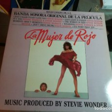 Discos de vinilo: LA MUJER DE ROJO. BANDA SONORA ORIGINAL DE LA PELICULA. Lote 192454278