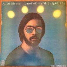 Discos de vinilo: AL DI MEOLA LAND OF THE MIDNIGHT SUN LP ESPAÑA EXCELENTE. Lote 192464480