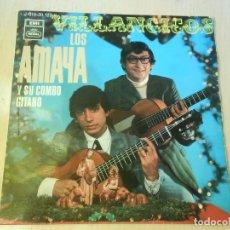 Discos de vinilo: AMAYA, LOS - VILLANCICOS -, EP, RIN, RIN + 3, AÑO 1969. Lote 192473083