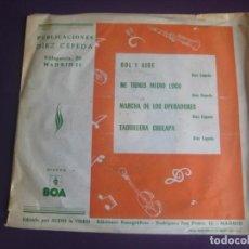 Discos de vinilo: DIEZ CEPEDA EP BOA AUDIO VIDEO 1976 - SOL Y AIRE / ME TIENES MEDIO LOCO +2 - ORQUESTA 70'S . Lote 192474773