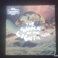 Discos de vinilo: OASIS. THE SHOCK OF LIGHTNING. SINGLE 7'. 2008. NOEL GALLAGHER.. Lote 192476283
